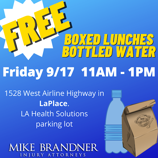 Bottled Water Giveaway in LaPlace